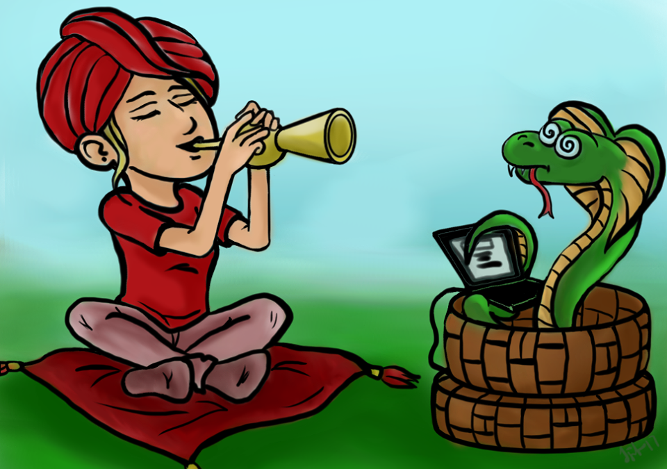 Začínám psát aneb první cena Blogového uspávače hadů jistá