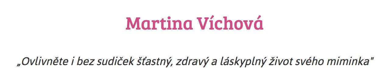 Martina Víchová